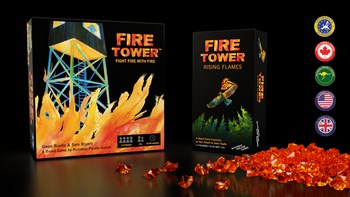 Fire Tower: Rising Flames Expansion + Reprint 🔥