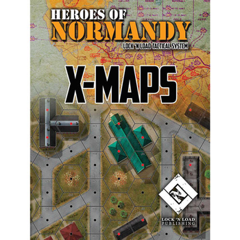 Lock 'n Load Tactical: Heroes of Normandy X-Maps board game