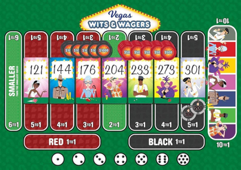 Wits & Wagers: Vegas Expansion board game