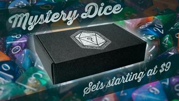 Mystery Dice, the Kickstarter