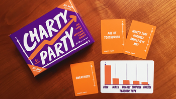 Charty Party: All Ages Edition - Absurdly Funny Charts Game