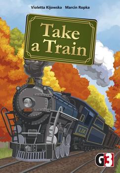 Take a Train board game