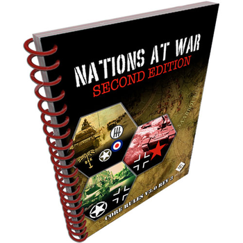 Nations at War: Core Rules v3.0 board game