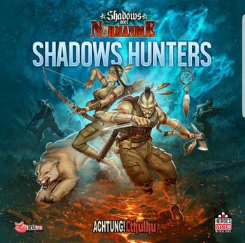 Shadows over Normandie: Shadow Hunters board game