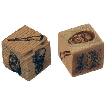Evil Dead 2: Cabin-Carved Deadite Dice board game
