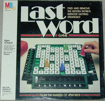 Last Word board game