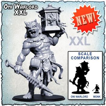Shadows of Brimstone: Oni Warlord XXL Enemy board game