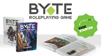 BYTE Roleplaying Game Rulebook board game