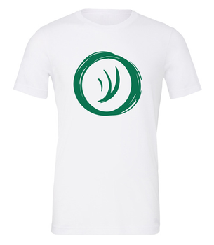 Charterstone: Green Charter (White T-Shirt with Green Logo)
