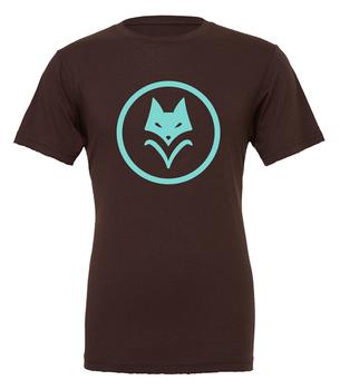 Scythe: T-shirt - Vesna (Brown with Teal Logo)