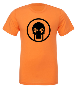 Scythe: T-shirt - Fenris (Orange with Black Logo) board game