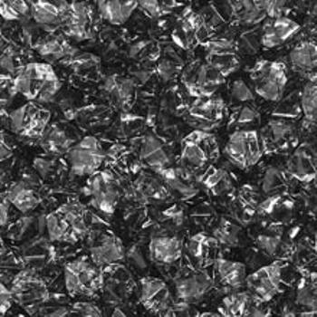 Black (Translucent) Acrylic Gems (Small) board game
