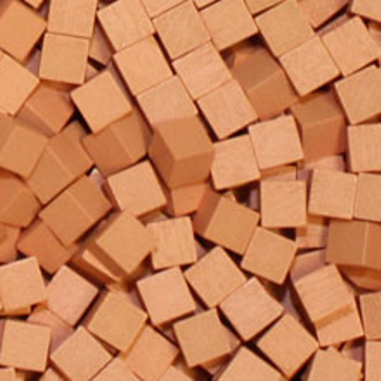 Salmon Wooden Cubes board game