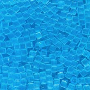 Sky Blue (Translucent) Acrylic Cubes (8mm) board game