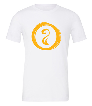 Charterstone: Yellow Charter (White T-Shirt with Yellow Logo)
