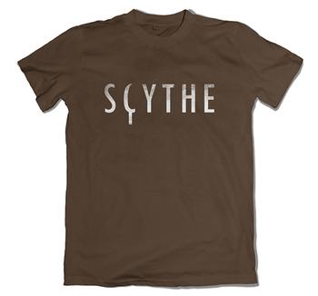 Scythe: T-shirt - Logo Brown Standard board game