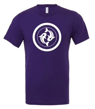 Scythe: T-shirt - Togawa Shogunate (Purple with White Logo)