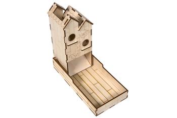 Mini Dice Tower Birdhouse for Wingspan (Broken Token)