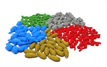 Wingspan: 3D Printed Food Tokens (105 pieces)