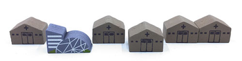 6-Piece Research Center Upgrade Pack (Compatible with Pandemic)