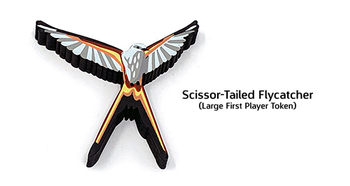Wingspan: Large Scissor-Tailed Flycatcher First Player Token