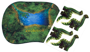 Evolution: Watering Hole Playmat