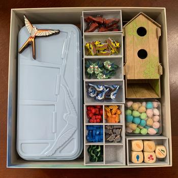 Wingspan: 3D Printed Organizer board game