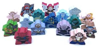 Tiny Epic Kingdoms Sampler Set (16 pcs)
