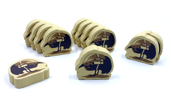 12-Piece Set of Packbirds for Near and Far