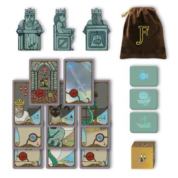 Original Kickstarter Stretch Goals for Feudum (29 pcs) - (Odd Bird Games)