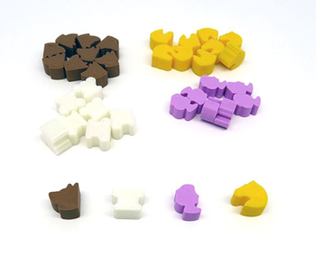 Last Will: 3D Printed Upgrade (36-Piece Set) board game