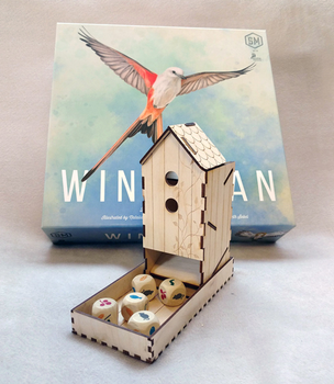 Wingspan: Wooden Dice Tower Kit board game