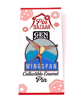 Wingspan: Gen Con 2019 Collectible Enamel Pin board game