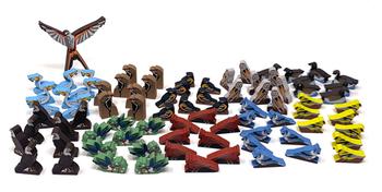 Wingspan: Deluxe North American Birds, 81-piece set