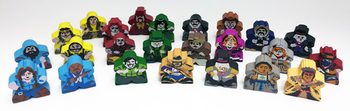 Tiny Epic Western: Character Meeples