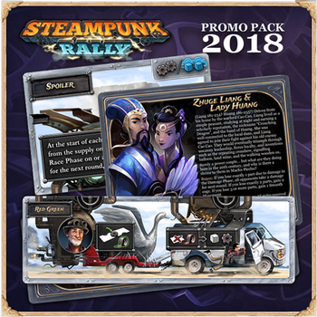 Steampunk Rally 2018 Promo Pack (Roxley Game Laboratory)