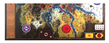 Scythe Kickstarter Game Board Extension (Stonemaier Games)