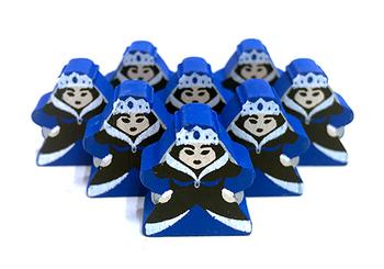 Queen 2.0 - Character Meeple board game