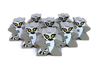 Lemur - Character Meeple board game