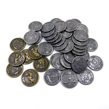 Set of Metal Coins for Feudum (50 pcs) - (Odd Bird Games)