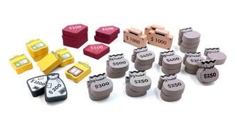 36-Piece Loot Set for Colt Express
