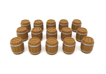 Brass: 3D Printed Barrels  (15 pieces) board game