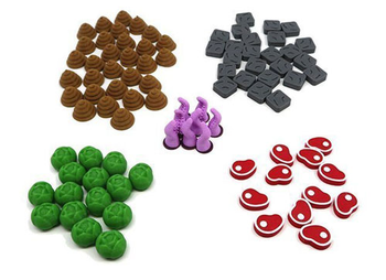 3D Printed Upgrade Kit for Dungeon Petz (90 pieces)