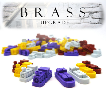 Brass: 3D Printed Upgrade Kit (112 pieces)