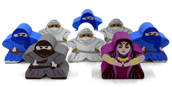Targi: Character Meeples (8-Piece Set)
