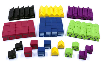 Set of Upgraded Buildings for Power Grid (132 pcs)