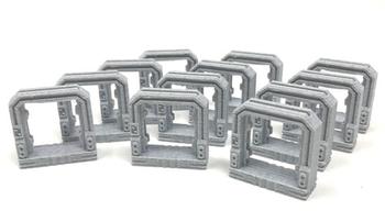 3D Printed Doors for Nemesis (12 piece set)