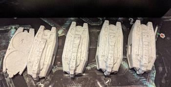 Nemesis: 3D Printed Escape Pods (Set of 4) board game