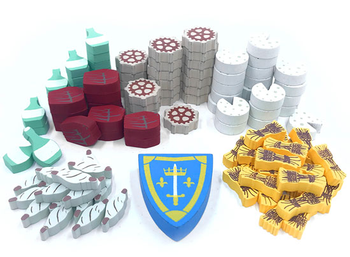 Orléans: Resource Upgrade Kit (111-piece set)