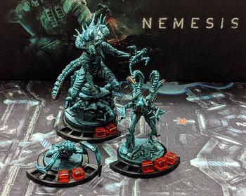 3D Printed Intruder Bases for Nemesis (set of 14)